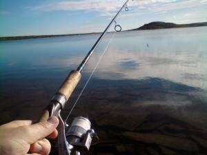 Fisking i Sulebergtjønnet