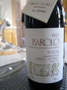 1996 Aurelio Settimo Barolo Rocche