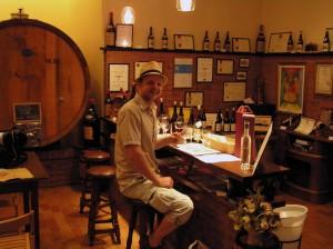 Vinsmaking hos produsenten Aurelio Settimo