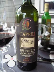 1997 Caprili Brunello di Montalcino Riserva