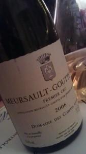 Lafon Mersault Gouette d'Or
