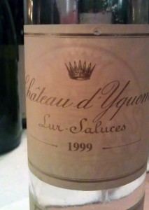 1999 Ch. d'Yquem