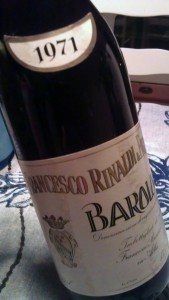 1971 Francesco Rinaldi barolo