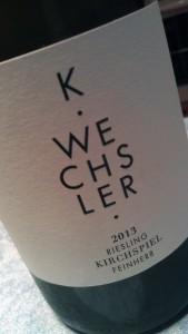 2013 K Wechsler Kirchspiel feinherb